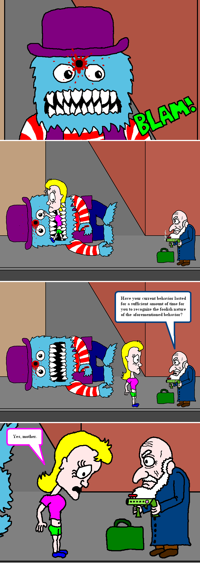 The ninth last strip